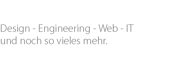 Engineering - Web - IT - Design
